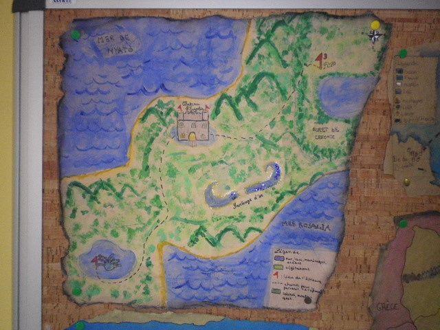 Cartographie - 5° 2017