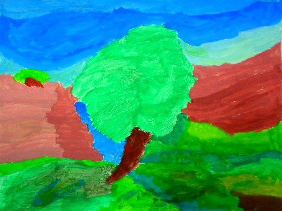 Paysage impressionniste - 4°