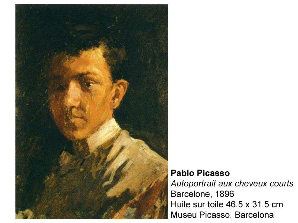 Quelques autoportraits de Pablo Picasso.
