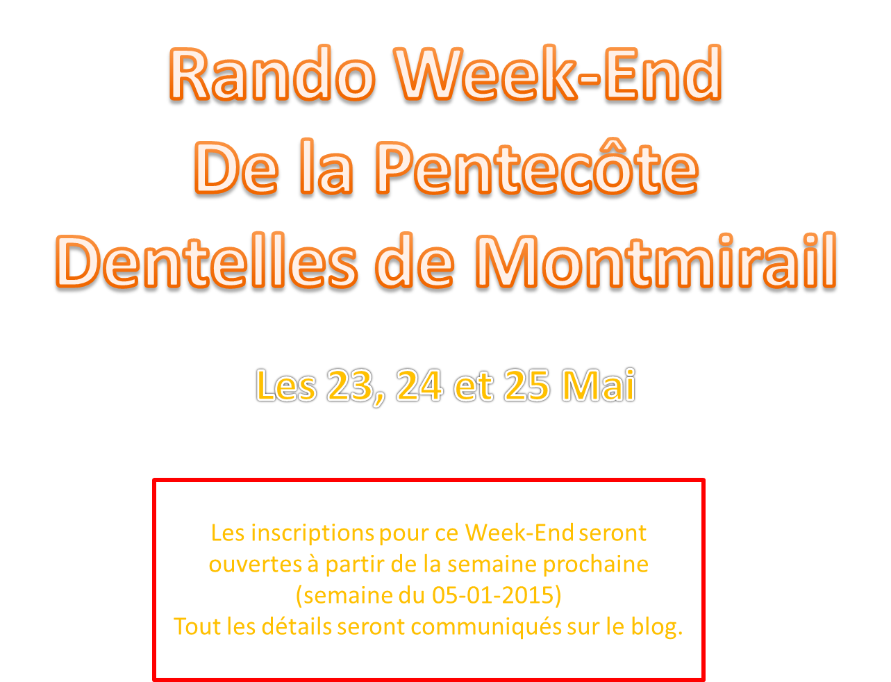 week end pentc te 23 24 25 mai 2015 rando club monas. Black Bedroom Furniture Sets. Home Design Ideas