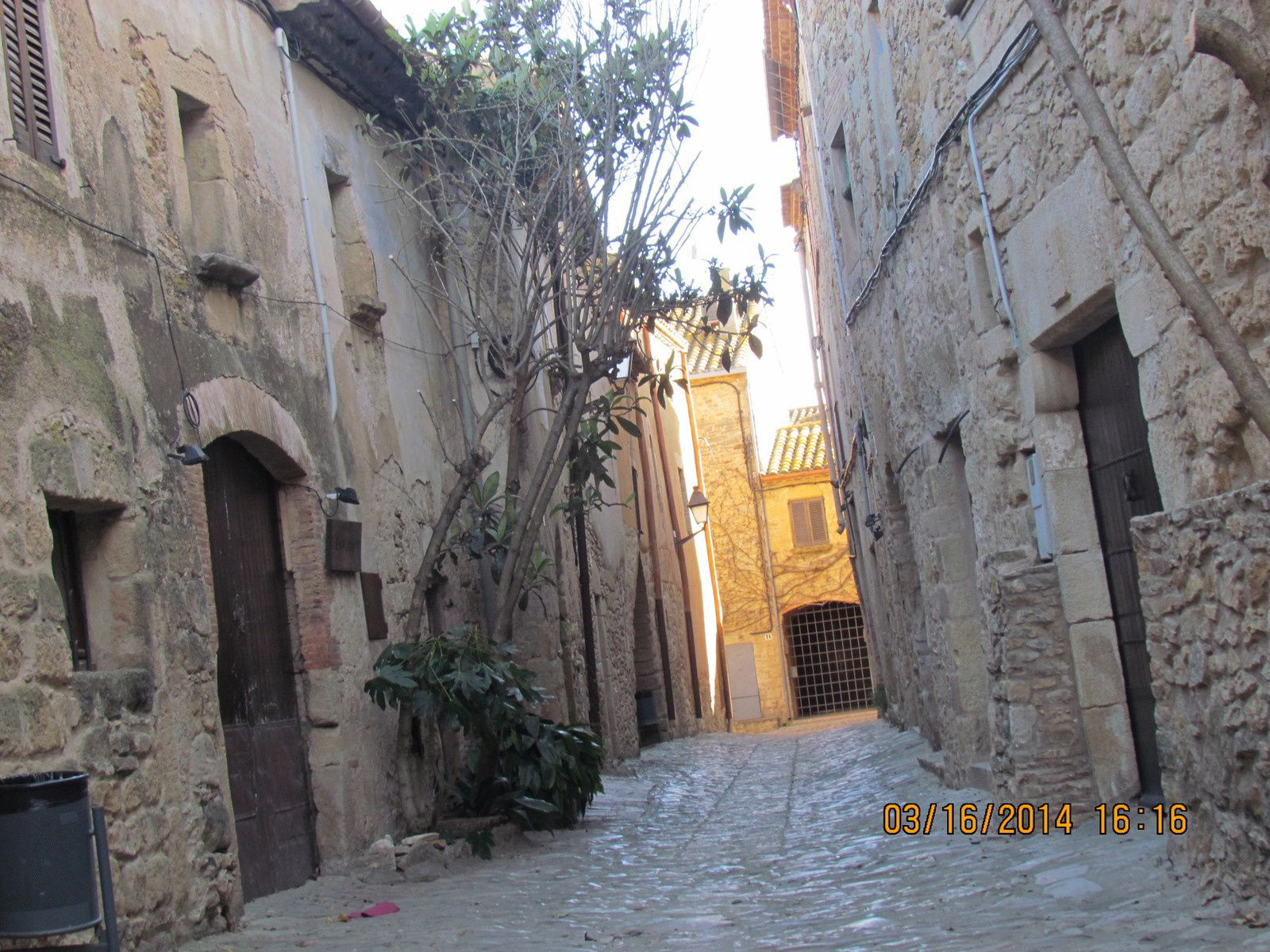 ce village est typique catalan