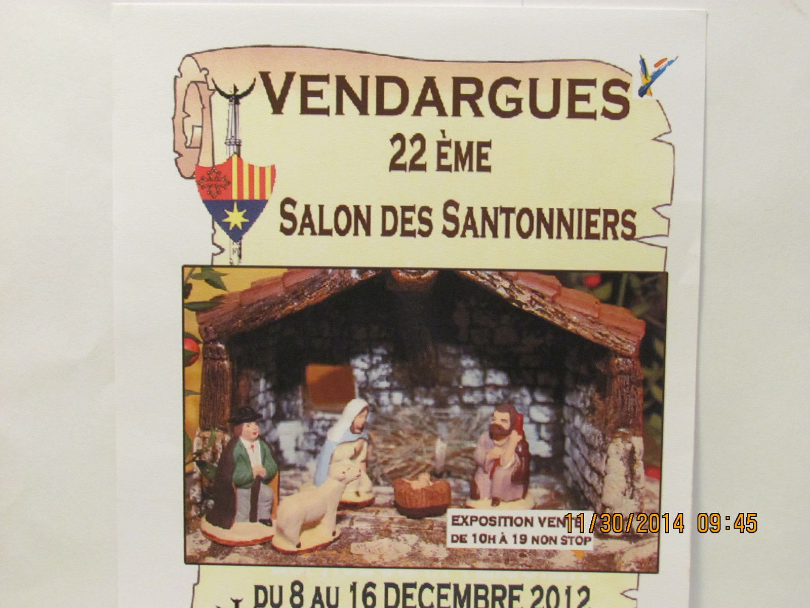 expo des santons vendargues