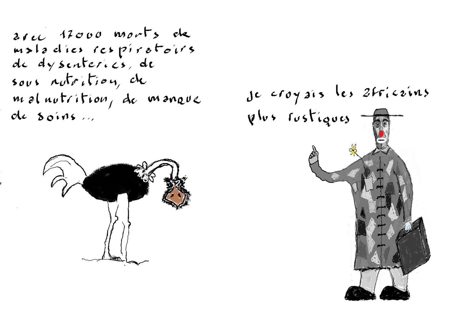 «Moins le blanc est intelligent plus le noir lui paraît bête» Gide. A propos d'un crime contre l'humanité français commis lors de la construction de la ligne Congo-océan