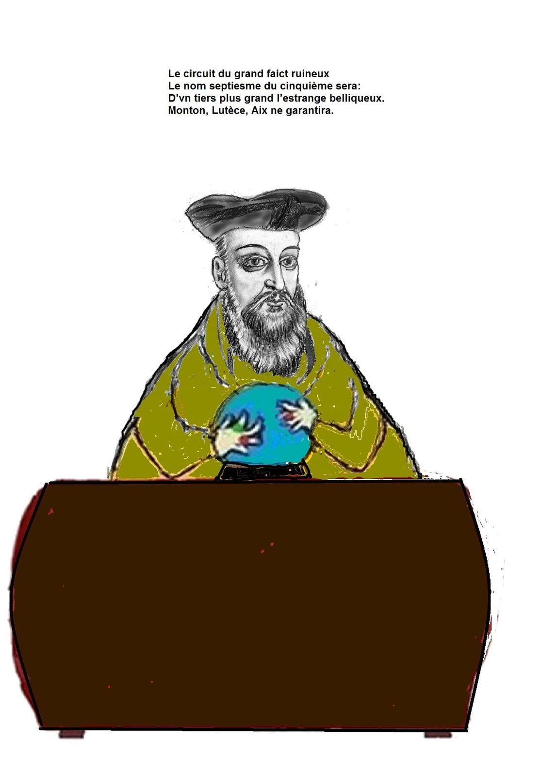 Une révélation de Nostradamus élucidée : Notre état cigale ne sera pas secouru par l'Allemagne ni par les citoyens fourmis Français