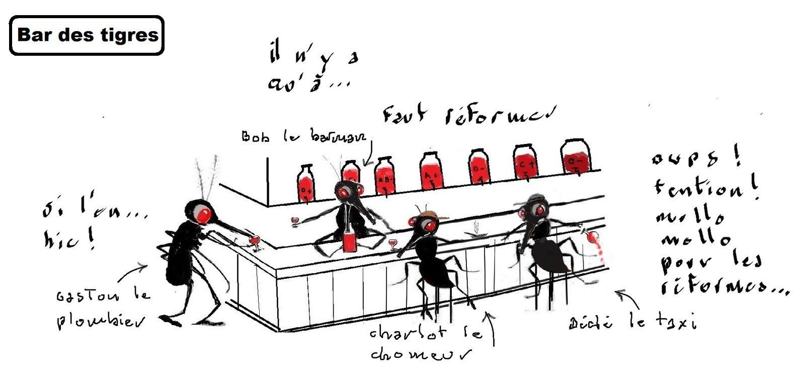 """Ouf ! La réforme de l'allocation chômage n' aura pas lieu ! Suite 2, à """"encore un instant messieurs les vautours"""""""