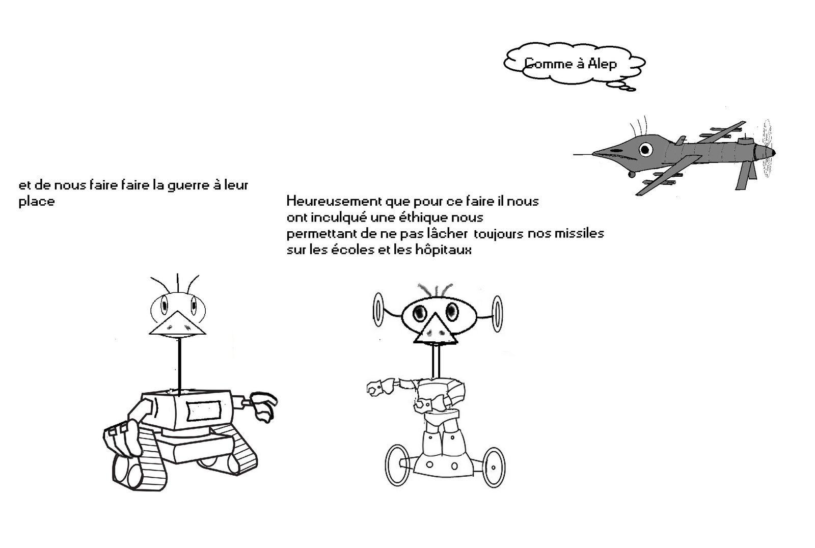 Notre avenir s' appelle robot : Les quatre  lois de l' humanitétique