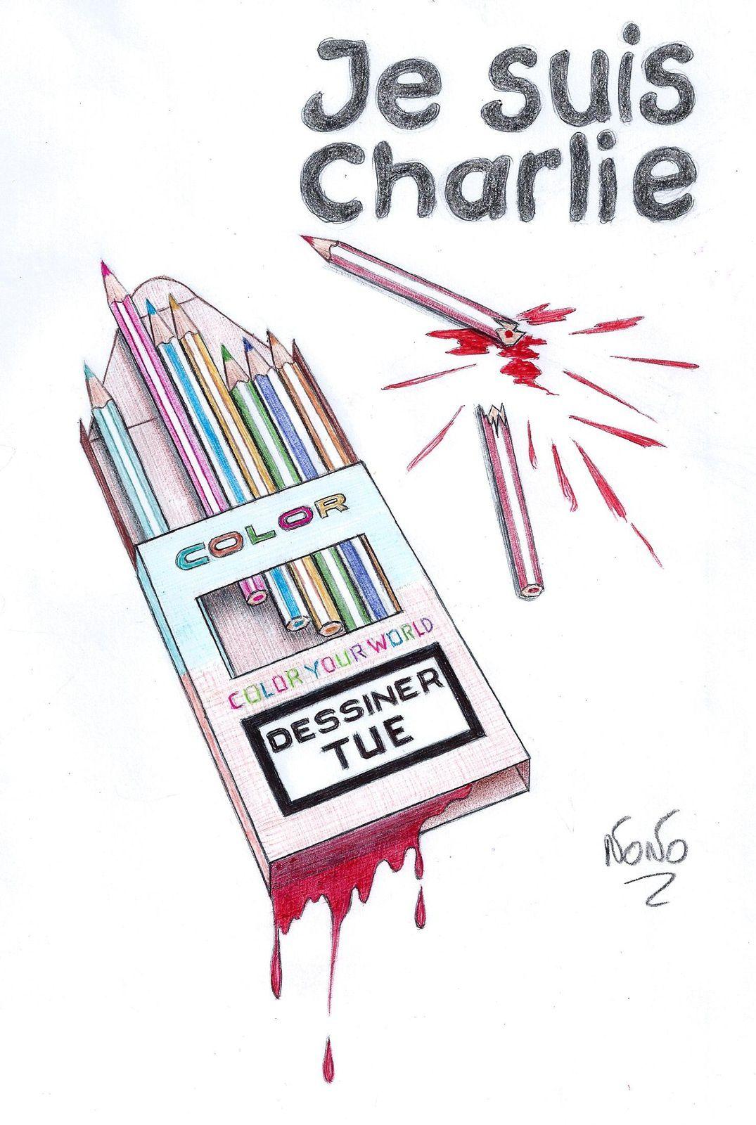 Qu'importe la couleur...Daniel Gence - Dessin: NoNo