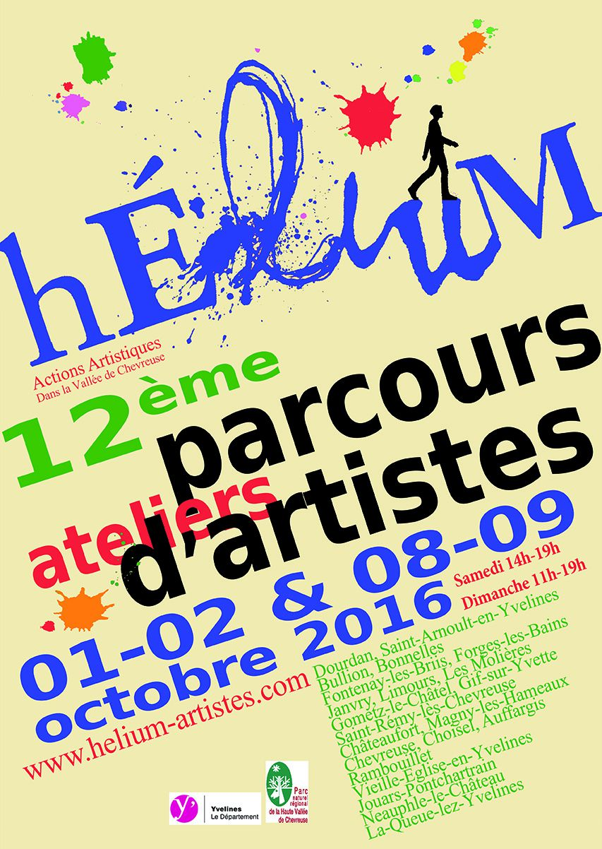 parcours ateliers d 39 artistes h lium octobre 2016 le. Black Bedroom Furniture Sets. Home Design Ideas