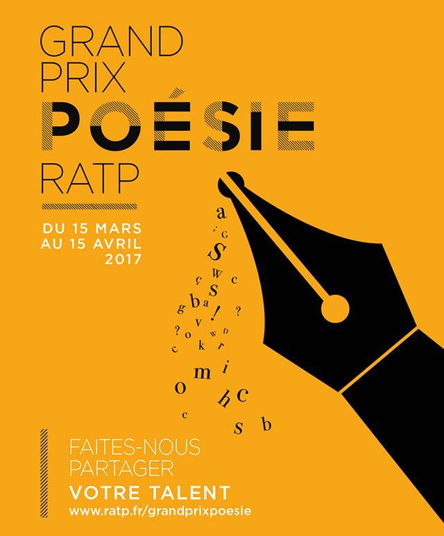 Le Grand Prix Poésie RATP 2017 : à vos plumes !