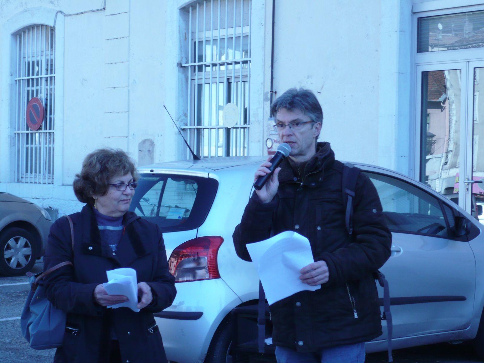 Franck Pallier, porte parole du collectif