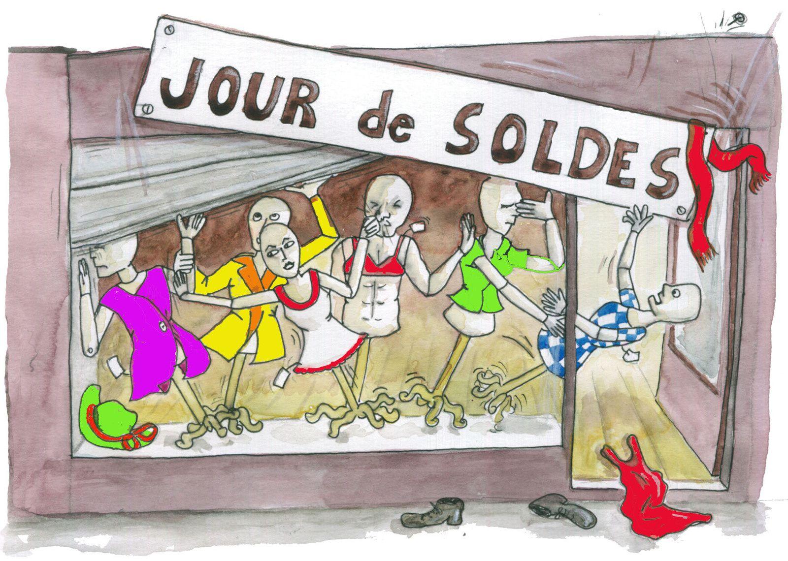 JOUR DE SOLDES