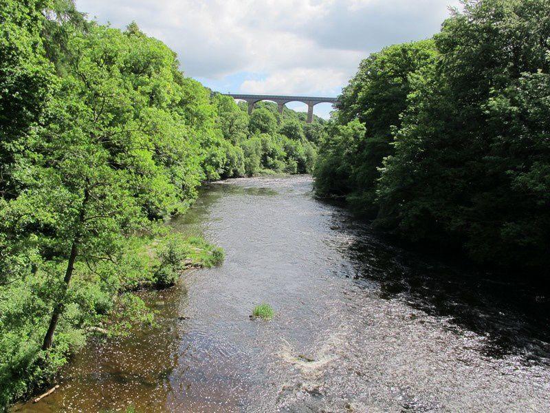 pour arriver au pont- canal de PONTCYSYLLTE