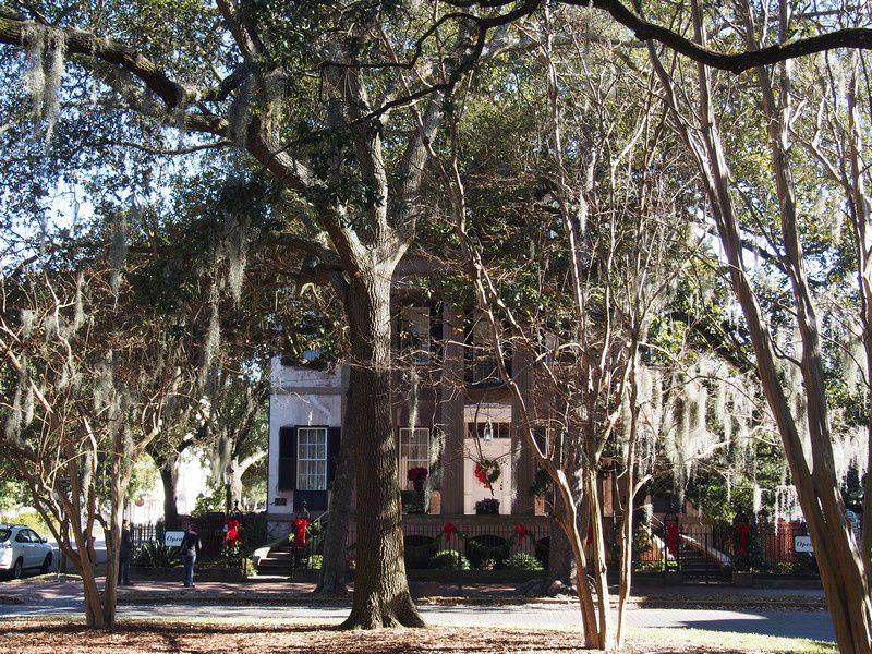 Aujourd'hui, délicieuse journée de flânerie à Savannah.