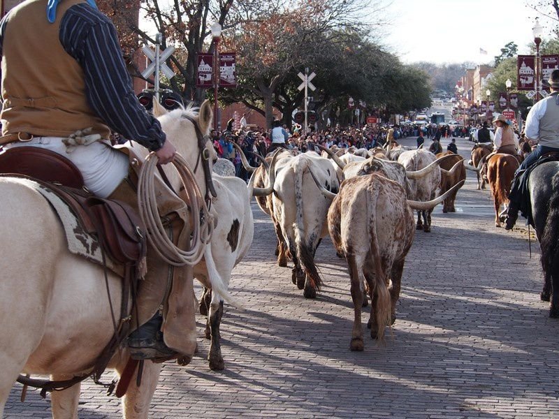 UN WEEK-END A FORT WORTH