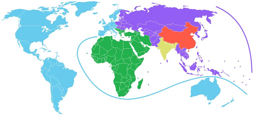 La Chine comme unité de mesure