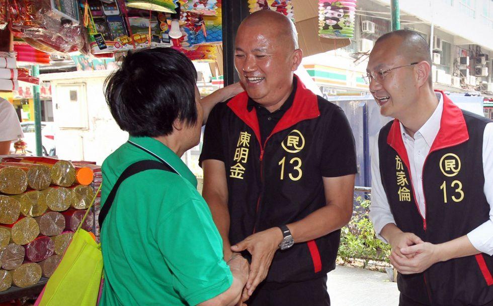 M. Chang, un des grands vainqueurs de l'élection.