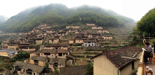 Le village de Hengkeng