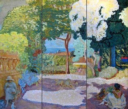 """""""La Méditerranée"""" (triptyque) Pierre Bonnard"""