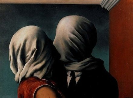"""The Lovers"" René Magritte"