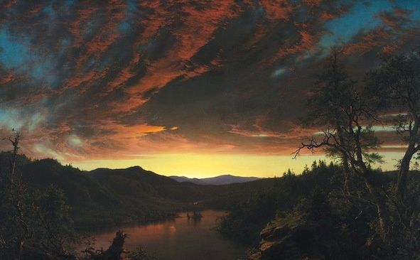 Twilight in the Wilderness © Frédéric Edwin Church
