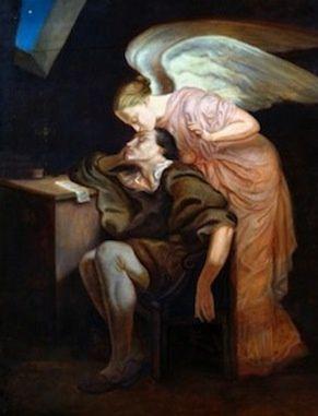 """""""Le baiser de la Muse"""" Paul Cézanne"""