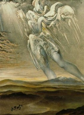 """surrealist angel"" Salvador Dali"