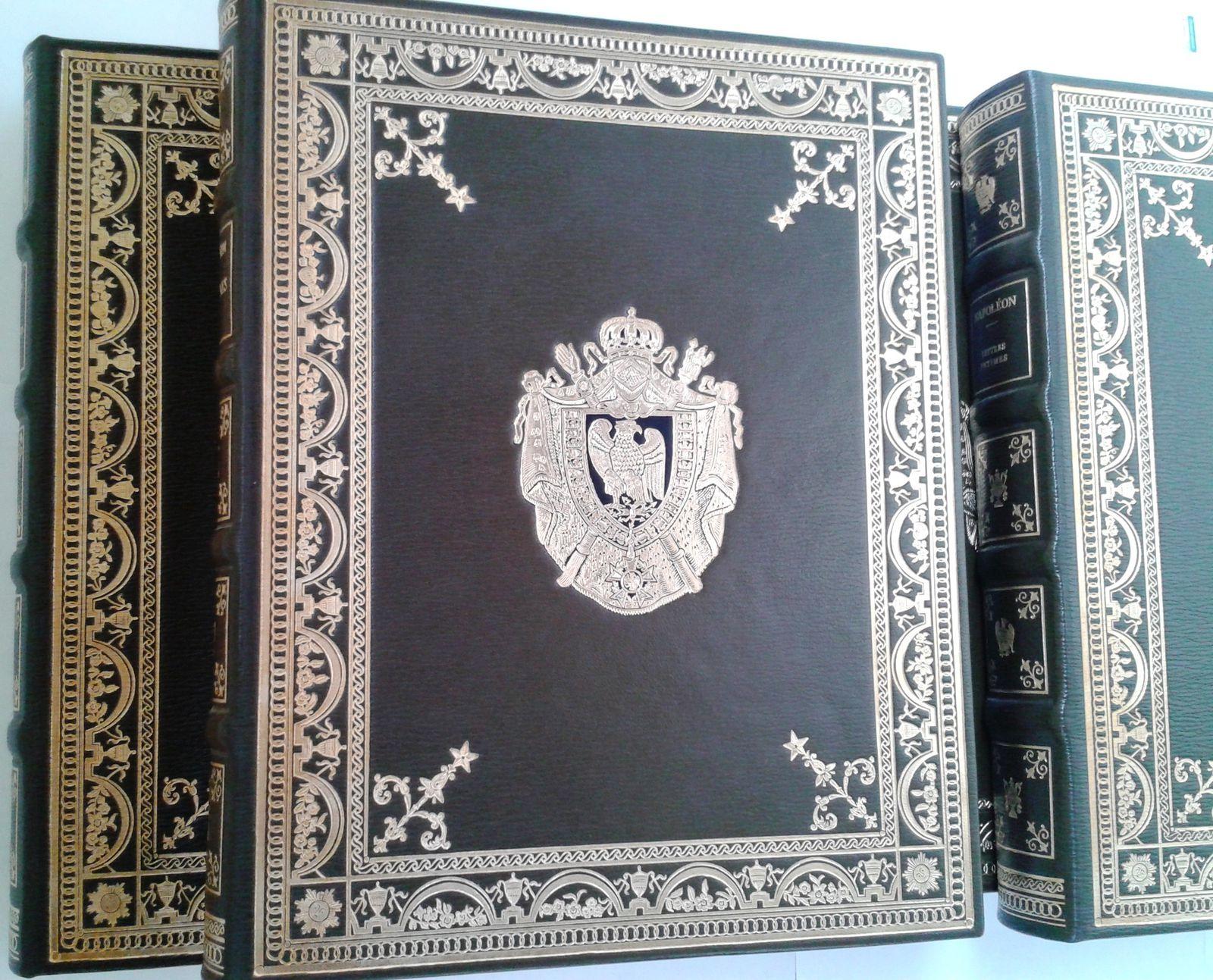 Mémoires Lettres correspondance de Napoléon Lebeau 1969 5 tomes numerotés