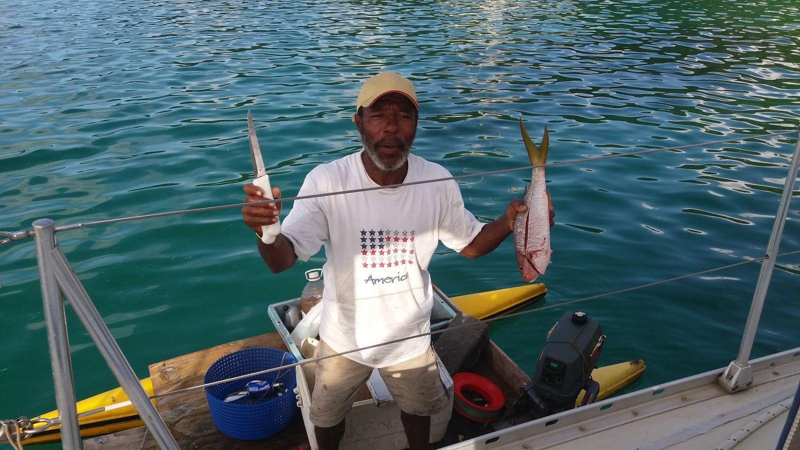 Pêcheur Canouanais typique