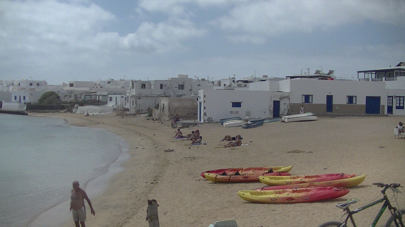 La Graciosa :playa Francesa