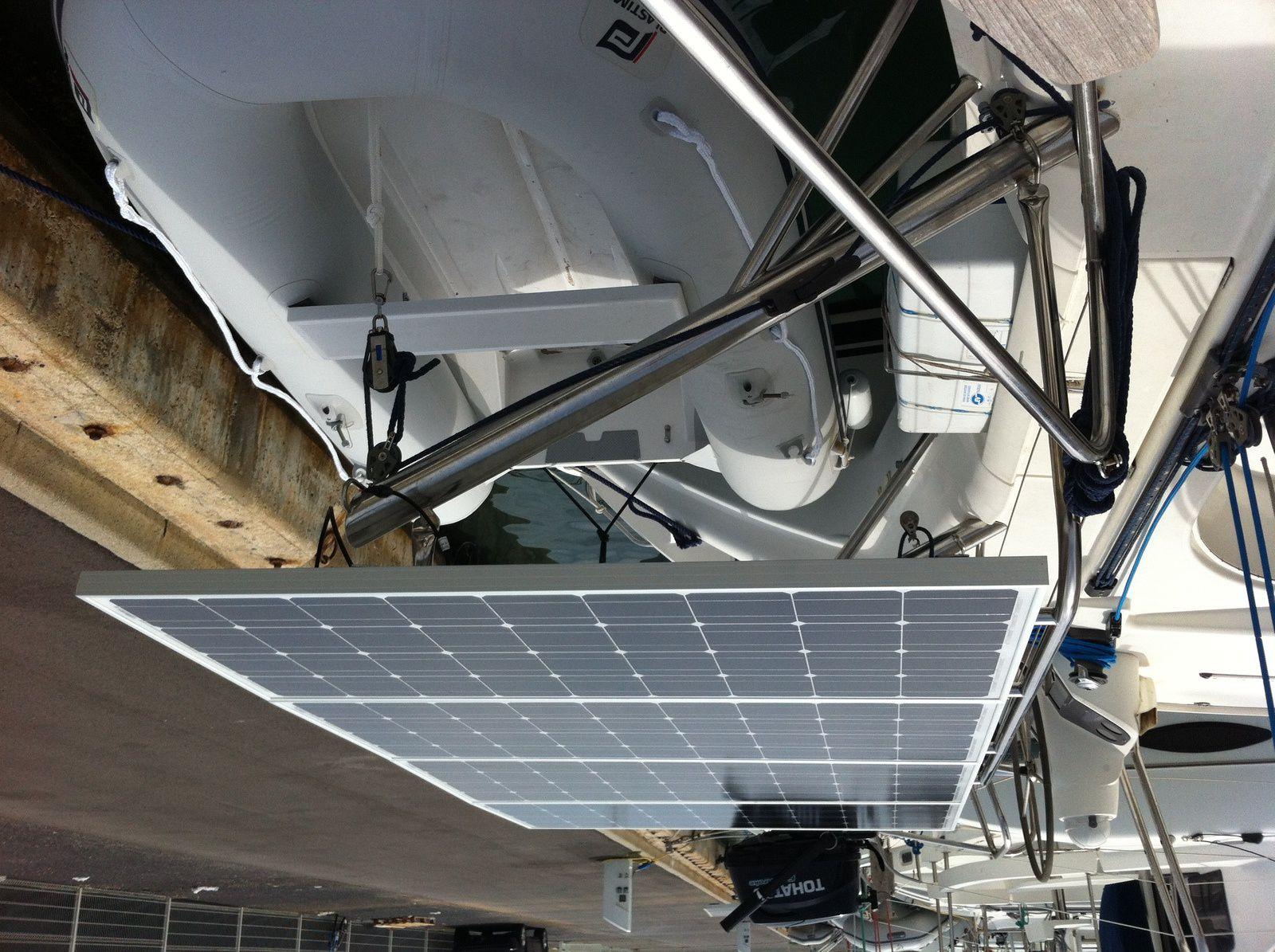 Energie à bord(2) : les panneaux solaires.