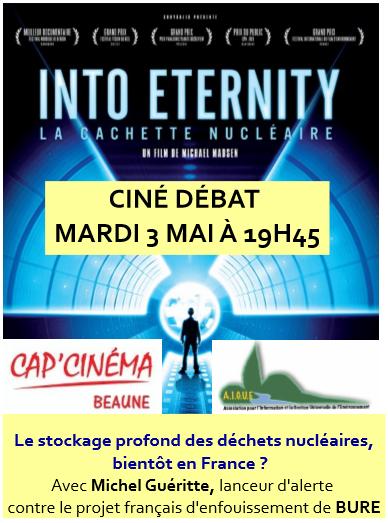 Déchets nucléaires, à BURE (200 km de Beaune)