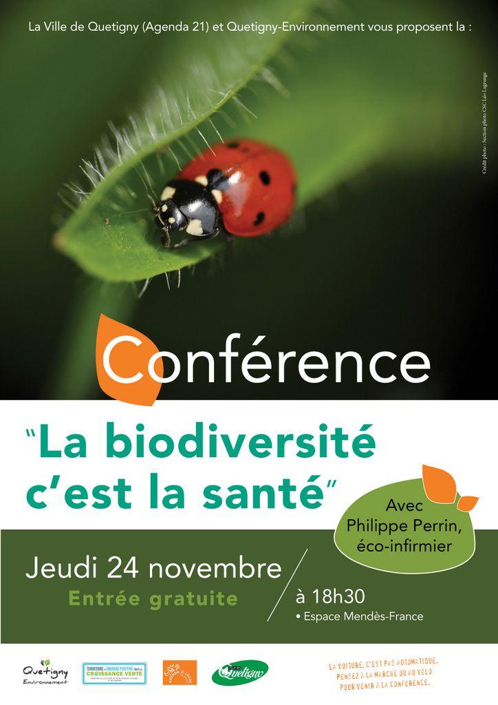 La biodiversité c'est la santé