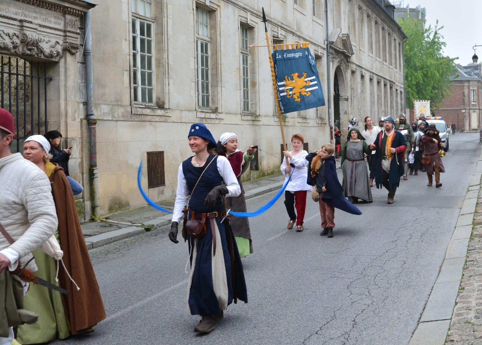 Fêtes Médiévales Laon 4/5 Juin 2016
