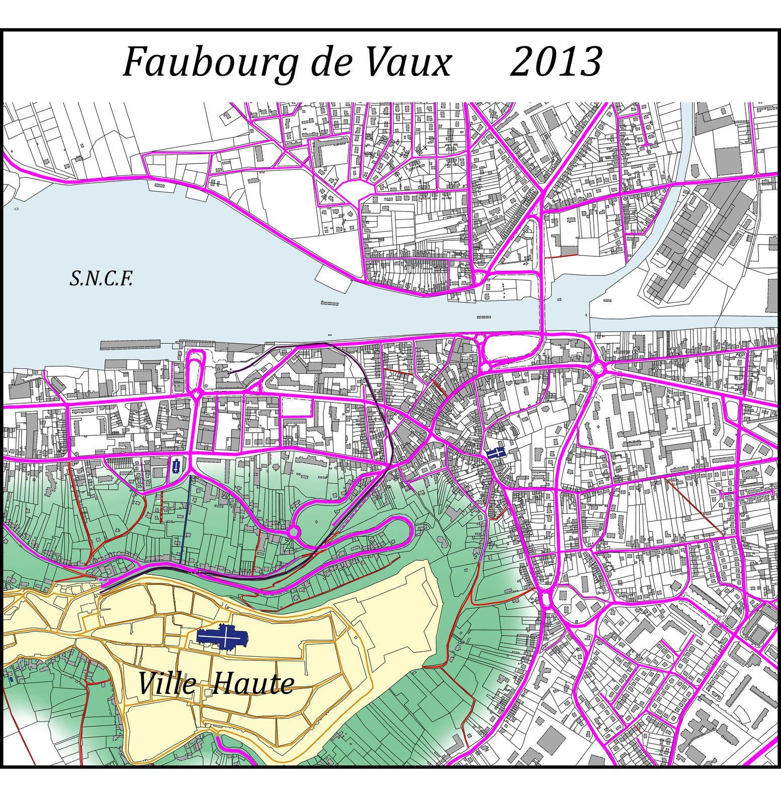 Faubourg de Vaux - Laon