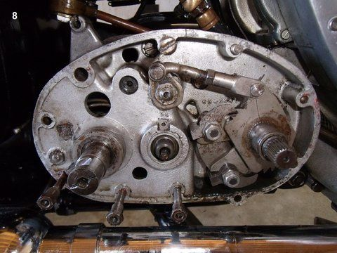 Restauration BSA 500cm3 type B33
