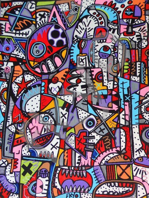 22 10 2016-fkyo, 40x30, encre peinture papier, fkyo