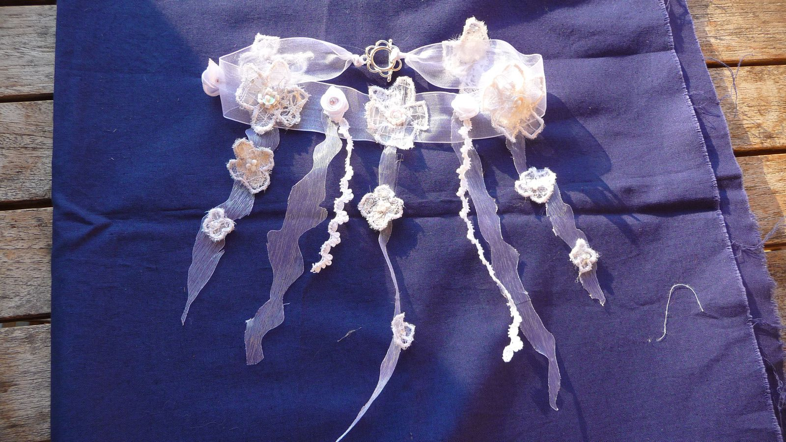 collier pour la mariée