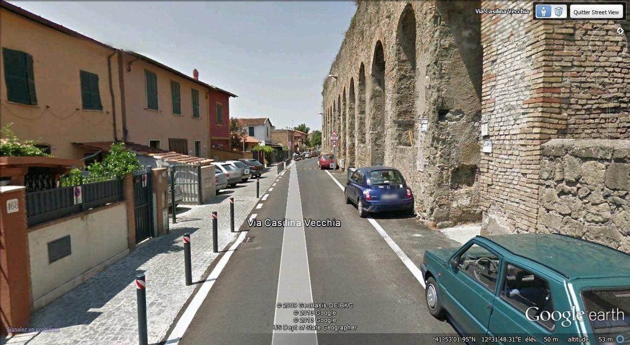 acqueduc via Casilina Vecchia