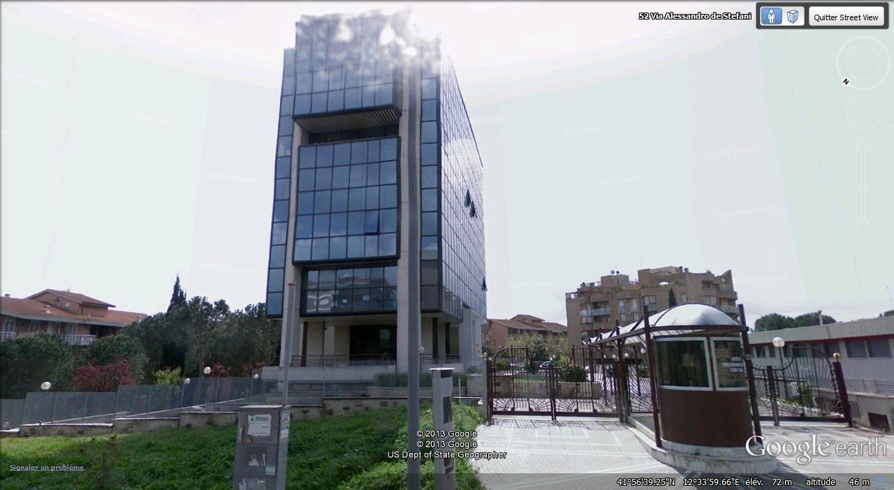 immeuble de bureaux via De Stefani