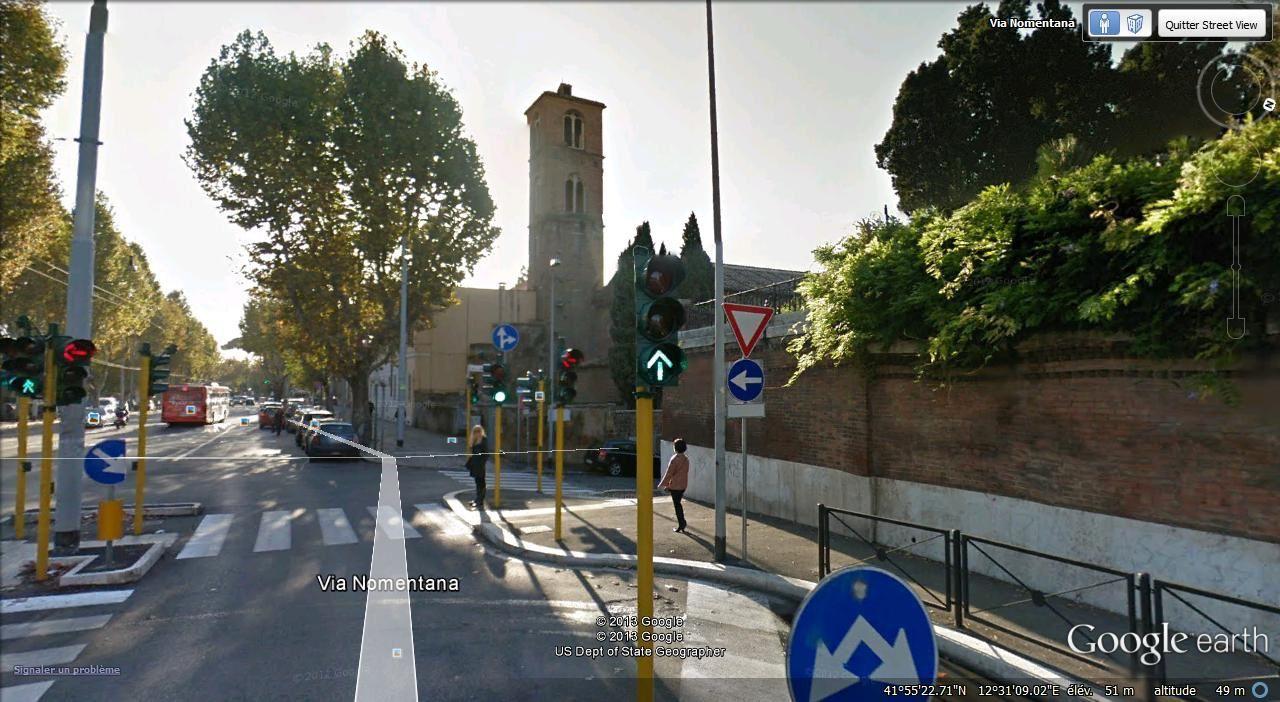 Ste Agnes hors les Murs ( 4,6 km )