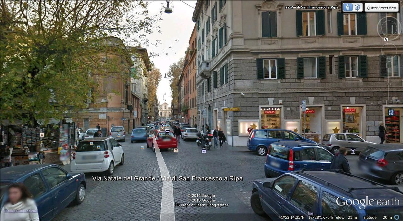 via di San Francesco a Ripa