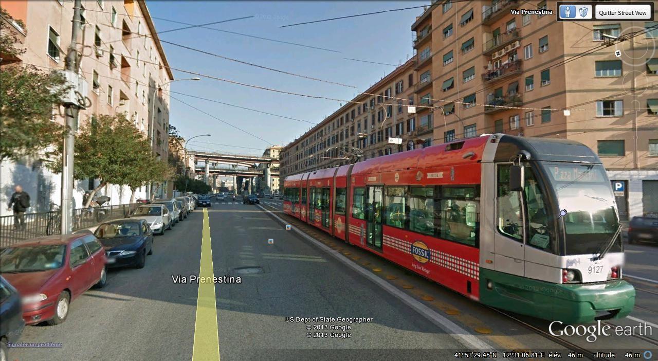 tram via Prenestina