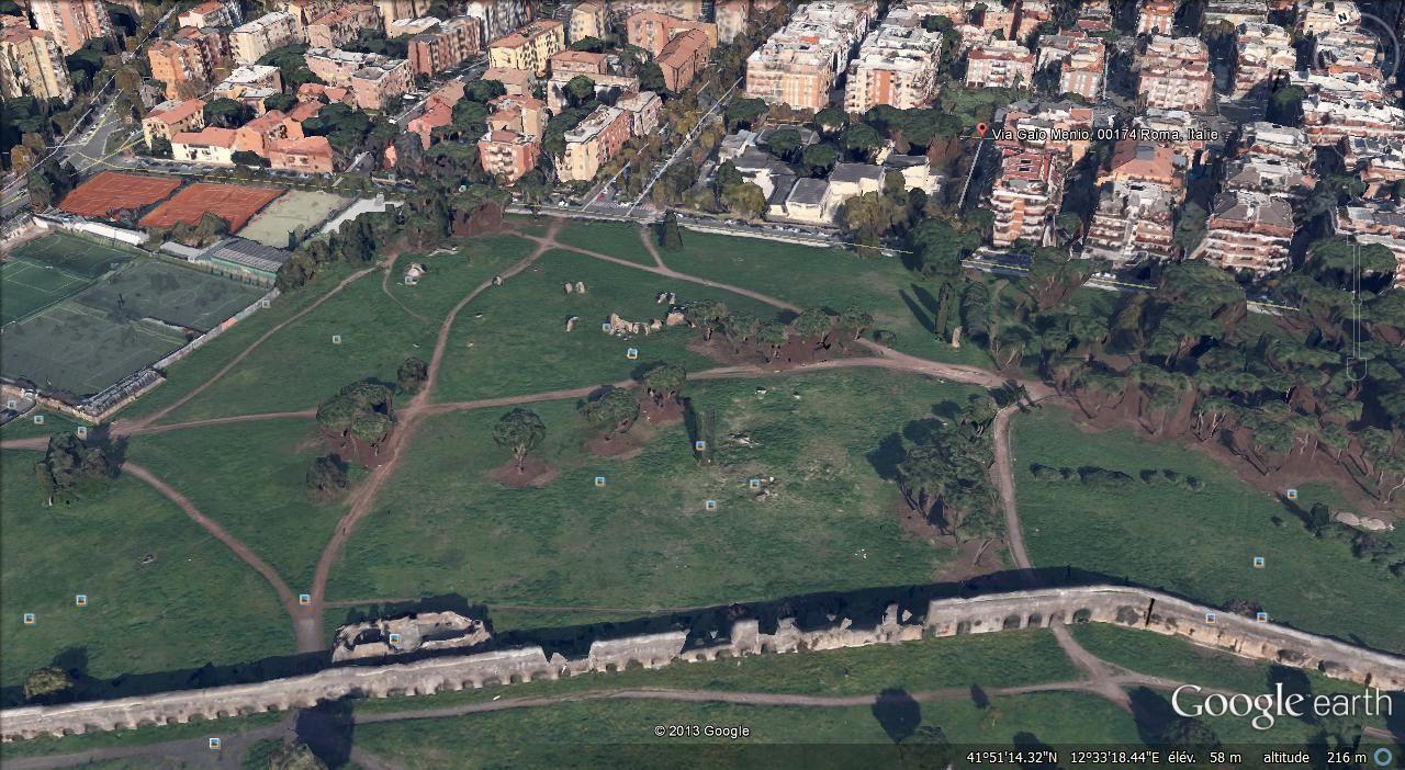parc archéologique Vigna delle Vignace
