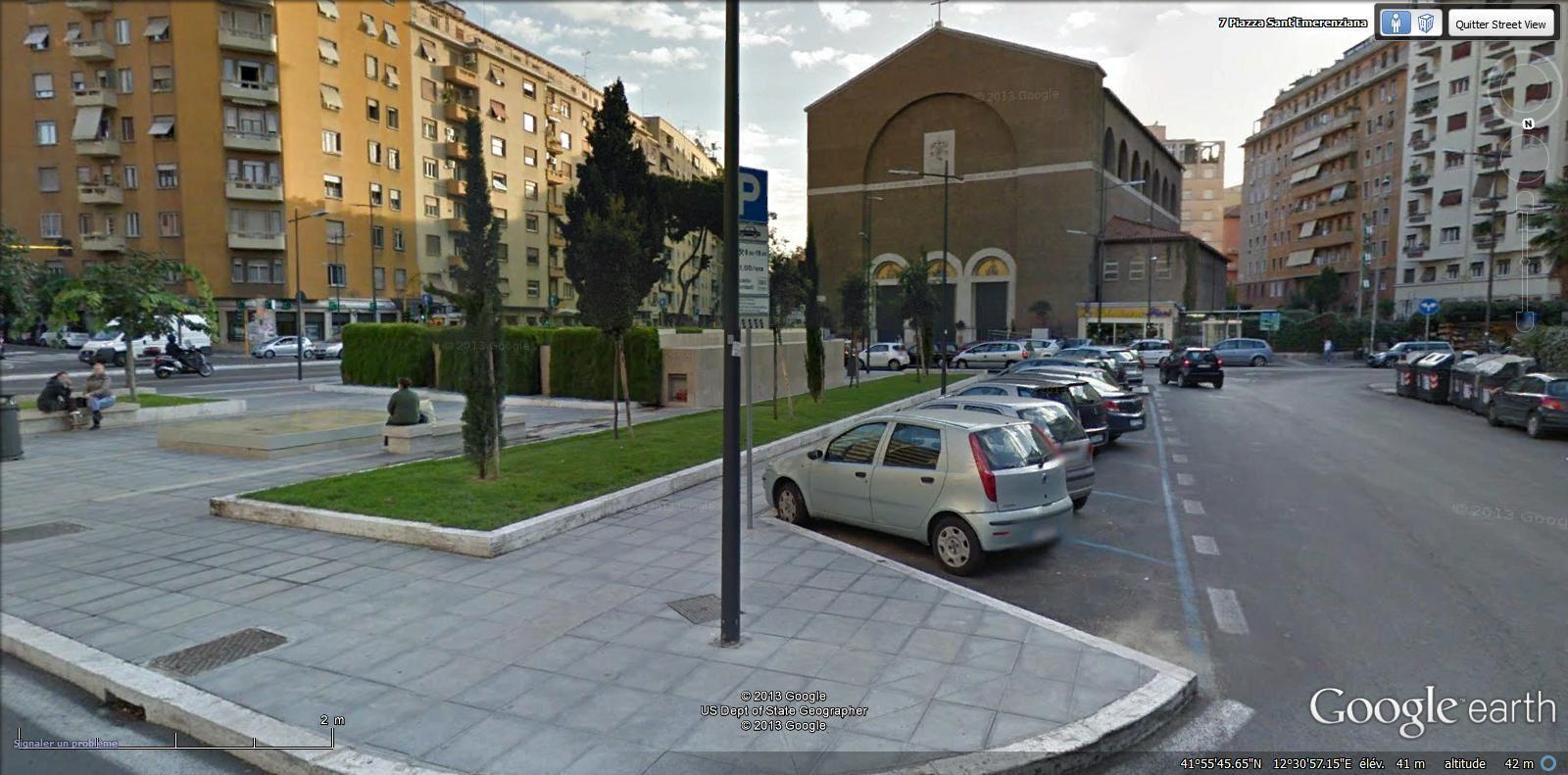 piazza Sant Emerenziana ( Trieste métro Libia)