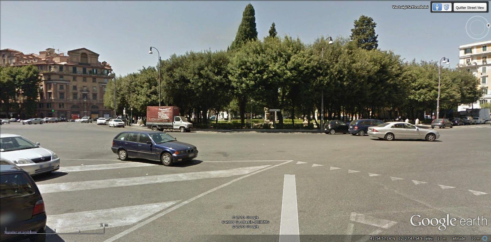piazza Mazzini ( Delle Vittorie tram Lepanto métro Lepanto)