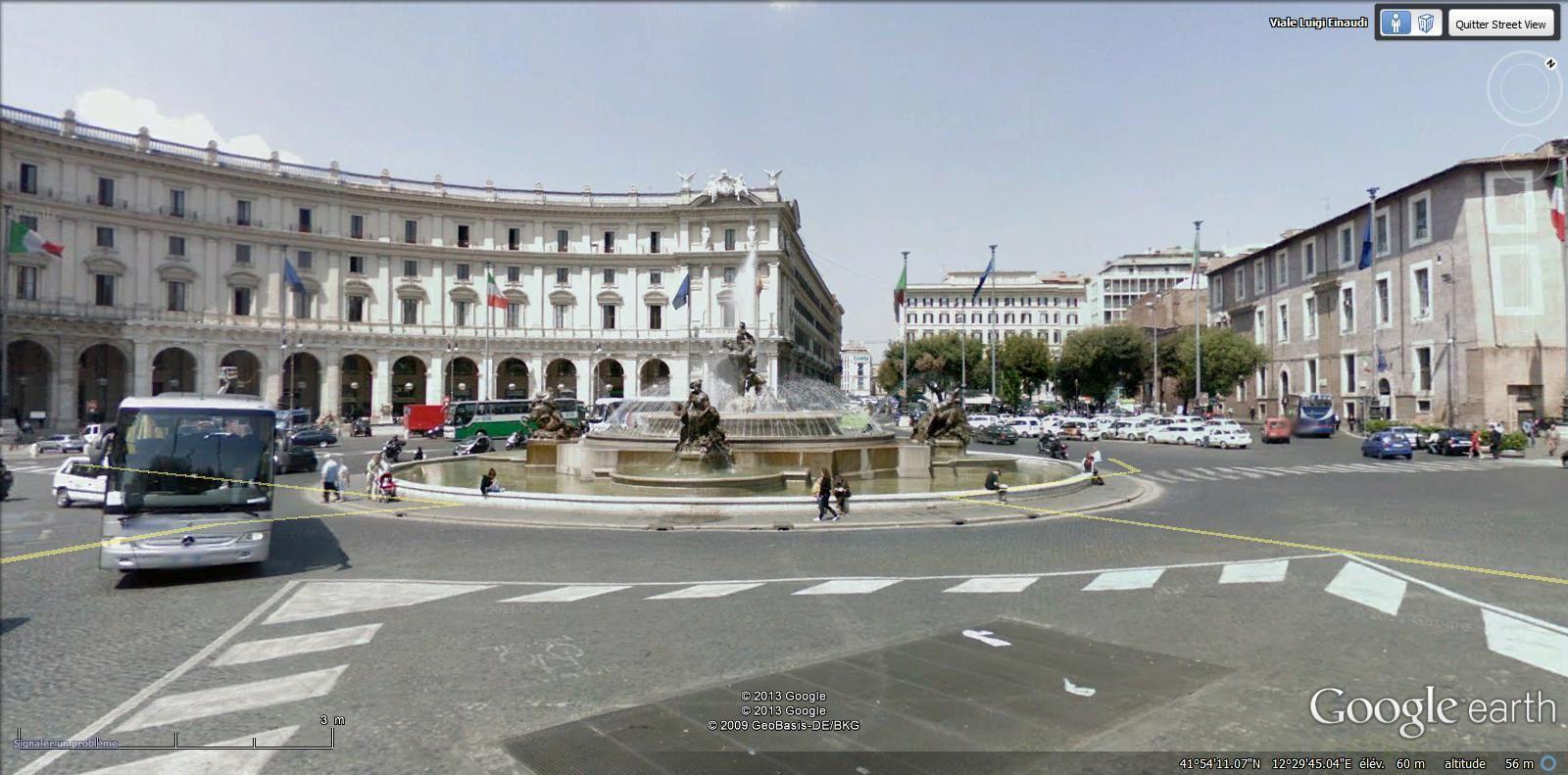 fontaine des Naîades ( Termini métro Repubblica)