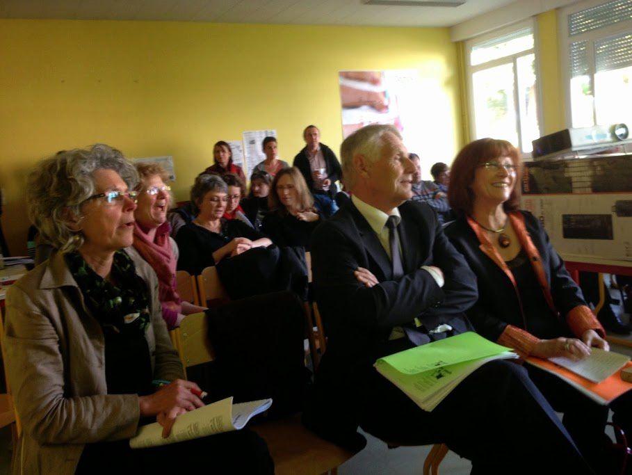 l'association Div Yezh Breizh tenait son assemblée générale à Pontivy sous la présidence de MM. Antony Le Crom et David Redouté