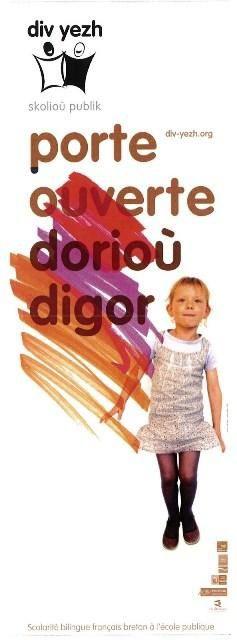 """Dorioù Digor """"Porte ouverte"""" skol pont -douar de Brec'h"""