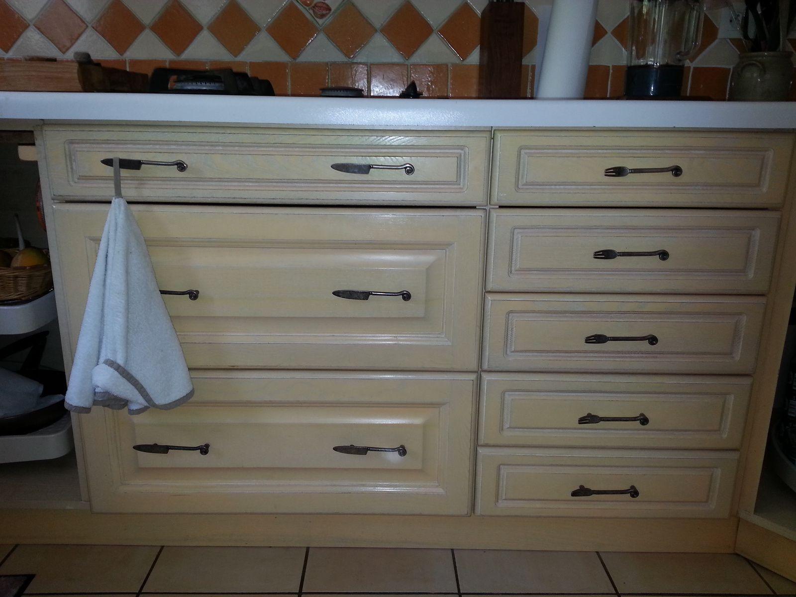 Cuisine relook e pour patricia relooker relouk - Griffon meuble ...