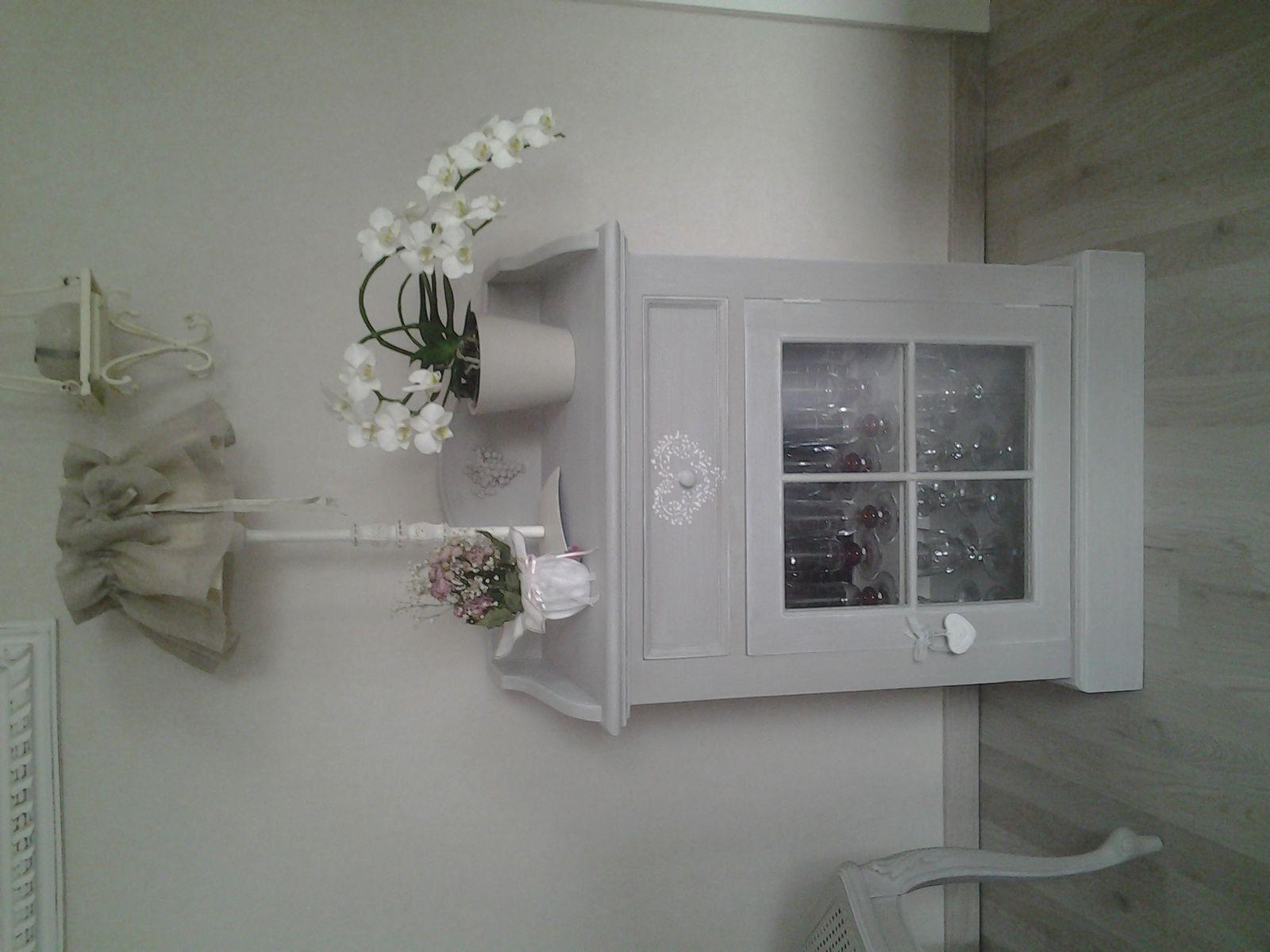 Chaise charme pour genevi ve relooker relouk relooking peindre meubles cui - Relooking meuble bordeaux ...